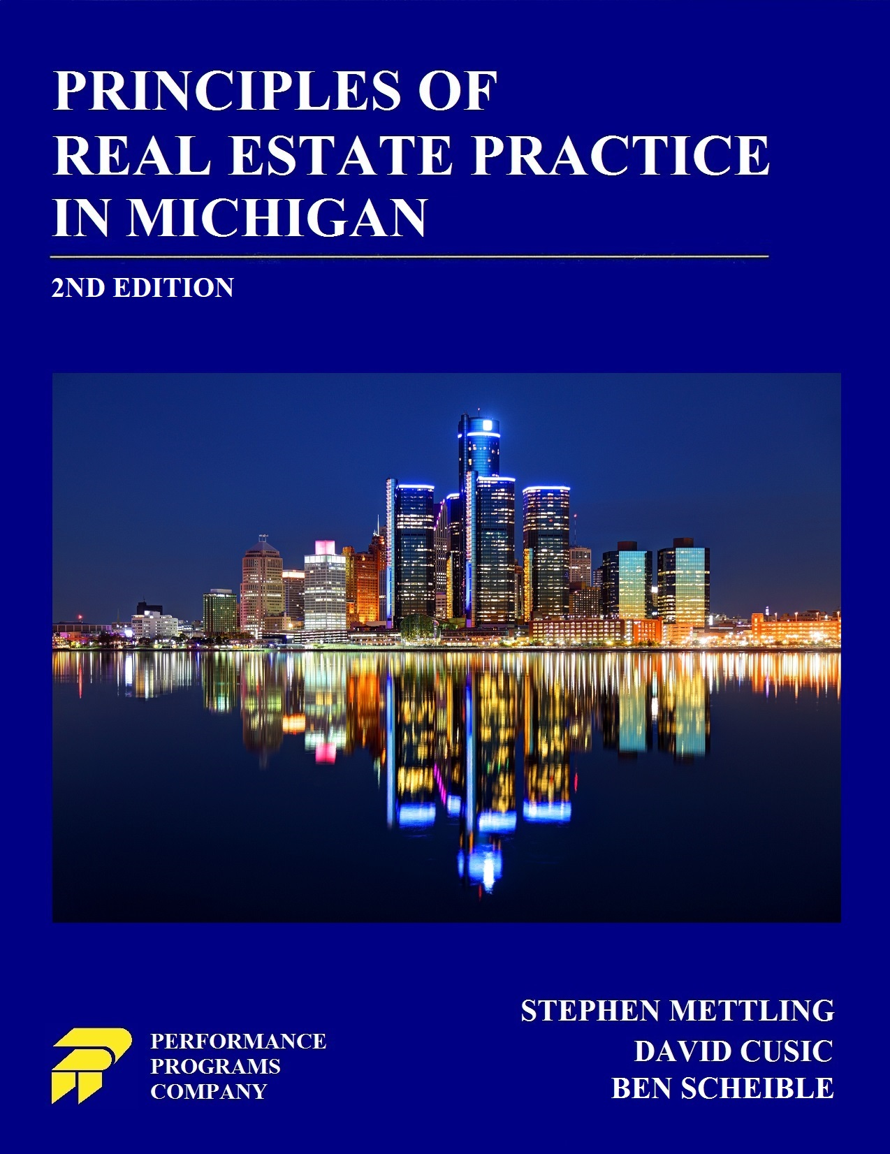 PREP-MI Principles of Real Estate Practice 2nd Ed Book Cover 7-9-2020