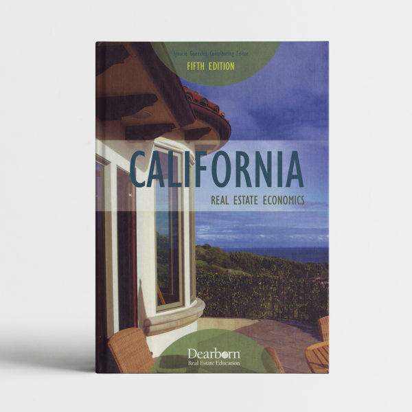 CALIFORNIA REAL ESTATE ECONOMICS_course