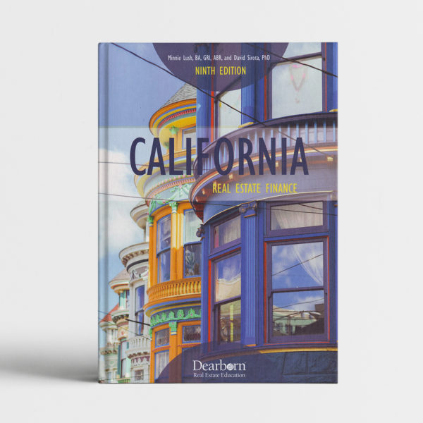 CALIFORNIA REAL ESTATE FINANCE_course