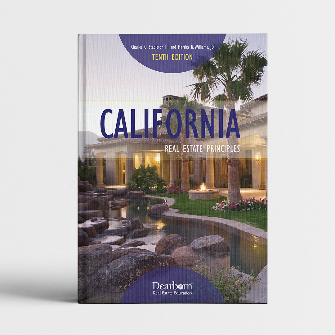 CALIFORNIA REAL ESTATE PRINCIPLES_course