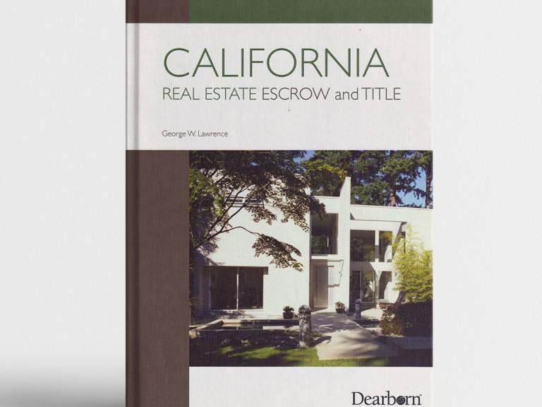 CALIFORNIA REAL ESTATE ESCROW & TITLE_course